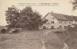 Thematiques 70 Haute Saône Chemilly Le Restaurant Léon Et Le Pont Du Durgeon - France
