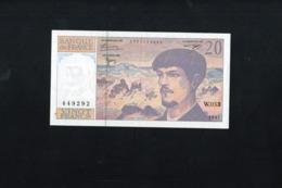 20 Francs DEBUSSY:Rare Billet W.053,de 1997,état NEUF - 1962-1997 ''Francs''