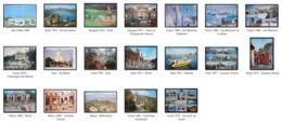 Lot De 19 Cpm Monde - Cartes Postales