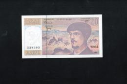 20 Francs DEBUSSY:Rare Billet W.052,de 1997,état NEUF - 1962-1997 ''Francs''