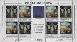 V943 Moldova 1993 Block MNH-neuf - Europa-CEPT