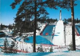 Norway (Norvège) - Oslo, Holmenkollen Ski Jump (tremplin Saut à Ski) - Norvège