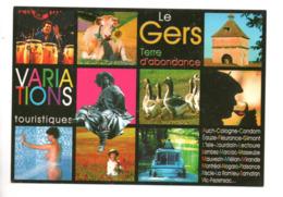 32 - LE GERS . TERRE D'ABONDANCE . VARIATIONS TOURISTIQUES . MULTI-VUES - Réf. N°9990 - - Non Classés