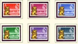 SINGAPORE  -  1958 New Constitution Set Unmounted/Never Hinged Mint - Singapur (...-1959)