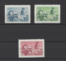 VIETNAM DU NORD.  YT  N° 86/88  Neuf **  1955 - Vietnam