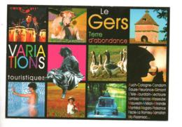 32 - LE GERS . TERRE D'ABONDANCE . VARIATIONS TOURISTIQUES . MULTI-VUES - Réf. N°9991 - - Non Classés