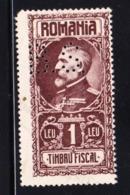 STAMPS-ROMANIA-PERFINS-USED-SEE-SCAN - 1918-1948 Ferdinand, Carol II. & Mihai I.