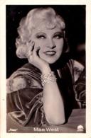 CINÉMA ANCIEN - ACTRICE : MAE WEST - PHOTO Des ANNÉES 1920 - 1930 : ROSS - DIMENSIONS : ~ 5 X 7 CM (ad084) - Actors