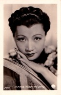 CINÉMA ANCIEN - ACTRICE : ANNA MAY WONG - PHOTO Des ANNÉES 1920 - 1930 : ROSS - DIMENSIONS : ~ 5 X 7 CM (ad085) - Schauspieler