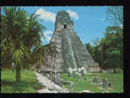 CPM Neuve Guatemala TIKAL OETEN Templo Gran Jaguar - Guatemala