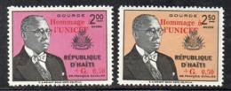 APR2972- HAITI 1960 , Posta Aerea Serie Yvert N. 182/183  ***  MNH  (2380A)  Unicef - Haiti