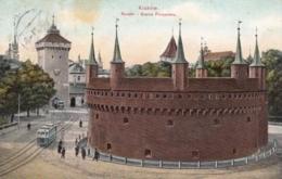 AK - POLEN - Krakow - Rondel I Brama Floryanska - 1911 - Polen