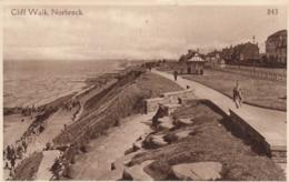 AK - Cliff Walk - Norbreck - 1937 - Blackpool