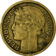 Monnaie, France, Morlon, 2 Francs, 1935, Paris, TB+, Aluminum-Bronze - I. 2 Francs