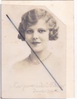 Nos Portraits Meley ,Pointes Sèches (Jolie Visage De Femme) Carte Photo) - Frauen