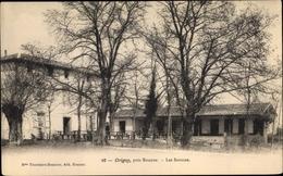 Cp Origny Loire, Les Sources - Francia