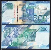 2019 Kenya ***NEW*** 200 Shilling Note Health Doctor Sports Athletics Education UNCIRCULATED - Kenya