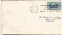ESTADOS UNIDOS USA CC BASE ANTARTICA AMUNDSEN SCOTT AÑO GEOFISICO INTERNACIONAL IGY 1957 - Año Geofísico Internacional