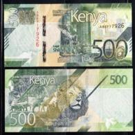 2019 Kenya ***NEW*** 500 Shilling Note Lion Giraffe Elephant UNCIRCULATED - Kenia