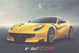 FERRARI F12 TDF - SCHEDA TECNICA - TECHNICAL SPECIFICATIONS - Automobile - F1
