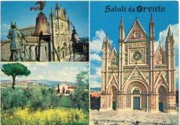 ORVIETO - Orologio Di Maurizio E Duomo - Panorama - Duomo - Vedute - Italië