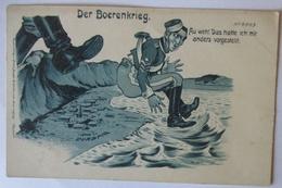 Politik Afrika Burenkrieg Durban, Au Weh, Engländer Bekommt Tritt In Den..(2733) - Weltkrieg 1914-18