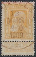 Grosse Barbe - N°79 + Oblitération Essai De Bruxelles Type Duplex (4 Lignes Dans Le Dateur + étoile). Superbe ! - 1905 Barbas Largas