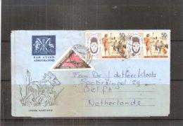Aerogramme From Kenya-Uganda-Tanzania 1976 To Netherlands(to See) - Kenya (1963-...)