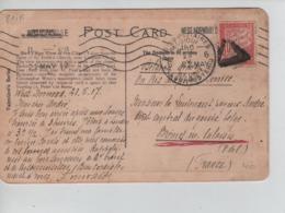 PR7349/ CP GB London Written From West-Norwood 1917 > Brèmes-En-Calaisis C.PMB-BPL 6 + TP Taxe FR 30c - Army: Belgium