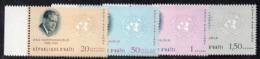 APR2979 - HAITI 1963 , Posta Aerea Serie Yvert N. 268/271  ***  MNH  (2380A)  Hammarskjold - Haiti