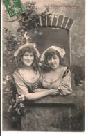 L80b193 - Les Filles De La Fermière - Impr. Réunies - Femmes