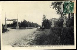 Cp Morsang Beausejour Essonne, Entree Du Parc Beausejour, Foret De Sainte Genevieve - France
