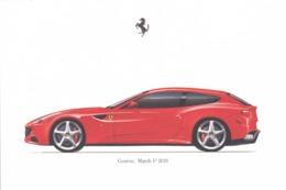 FERRARI FF - SCHEDA TECNICA - TECHNICAL SPECIFICATIONS - GENèVE MARCH 1 - 2011 - Car Racing - F1