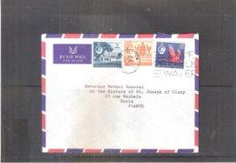 Cover From Trinidad & Tobago 195?  To France  - (to See) - Trinidad En Tobago (...-1961)