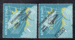 APR2980 - HAITI 1962 , Posta Aerea Serie Yvert N. 239/240  ***  MNH  (2380A)  Glenn - Haiti
