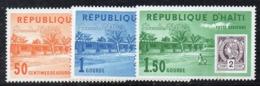 APR2981 - HAITI 1963 , Posta Aerea Serie Yvert N. 263/265  ***  MNH  (2380A) - Haiti
