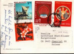 ! Ansichtskarte Madagaskar, Madagascar - Madagascar (1960-...)