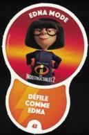 Carte à Collectionner Disney Auchan Les Défis Challenge Edna Mode 42 / 96 - Andere Sammlungen