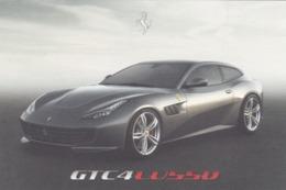 FERRARI GTC4 LUSSO - SCHEDA TECNICA - TECHNICAL SPECIFICATIONS - Car Racing - F1