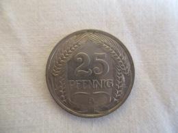 25 Pfennig 1912 A - [ 2] 1871-1918 : German Empire