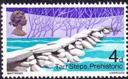 Großbritannien Great Britain Grande-Bretagne - Tarr Steps (MiNr: 481) 1968 - Postfrisch MNH - 1952-.... (Elizabeth II)