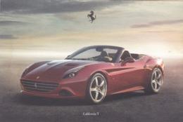 FERRARI CALIFORNIA T - SCHEDA TECNICA - TECHNICAL SPECIFICATIONS - Car Racing - F1