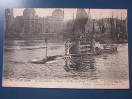 DUNKERQUE, Le Sous-marin Phoque Sortant Du Port - Unterseeboote