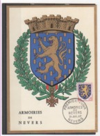 FR 1962 NEVERS - Cartoline Maximum