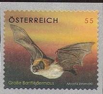 2007 Austria Yv. 2478  Mi 2651**MNH    Bartfledermaus - 2001-10 Ungebraucht