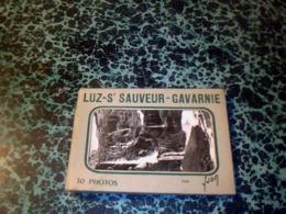 Cp  Carnet De 10  VUEs  Complet Luz St Sauveur  Gavarnie édition Yvon - Plogoff