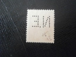 FRANCE TIMBRE SEMEUSE 138 NE13 PERFORE PERFORES PERFIN PERFINS PERFORATION PERFORIERT LOCHUNG PERFORATI PERCE PERFO - Perforés
