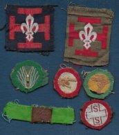 Scoutisme - Lot De 7 Insignes à Coudre - Padvinderij
