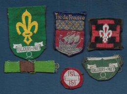 Scoutisme - Lot De 6 Insignes à Coudre - Padvinderij
