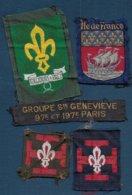 Scoutisme - Lot De 5 Insignes à Coudre - Padvinderij